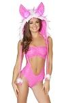 Retro GoGo Outfit Pink Dory