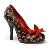 Retro Pumps Cutiepie-06 Cherry