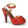 Sandalette Bettie-04 rot