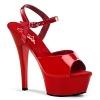 Sandalette Kiss-209 rot