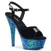 Sandalette Kiss-209LG blau