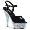 Sandalette Kiss-209LG silber