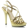Sandalette Lip-113 gold