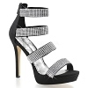 Sandalette Lumina-30 schwarz