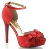 Sandalette Lumina-36 rot