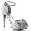 Sandalette Lumina-36 silber