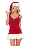 Santa Claus Kleidchen - Weihnachtskostüm