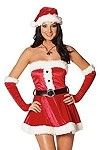 Santas Sweety - Sexy Weihnachtskost�m Gr.S