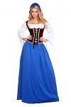 Schweizer Hütten Mädel Kostüm