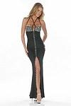 Sexy Abendkleid Isabell - schwarz