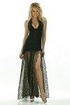 Sexy Abendkleid Lulu - schwarz