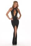 Sexy Abendkleid Sophia - schwarz
