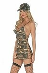 Sexy Army Kostüm Jenna