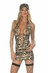 Sexy Army Kostüm Lisa