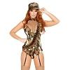 Sexy Army Kostüm Overall