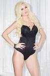 Sexy Body schwarz Dessous