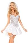 Sexy Brautkostüm Bride - Heiße Braut