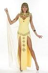 Sexy Cleopatra Faschings Kostüm