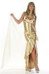 Sexy Cleopatra Kostüm No.4 SILBER Gr.M