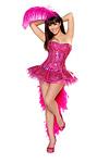 Sexy Flamingo Kostüm