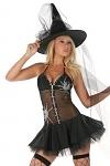 Sexy Halloween Hexe Salem Queen