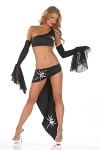 Sexy Hexen Kostüm Set