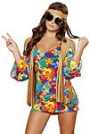 Sexy Hippie Girl - Flower Hippie Girl