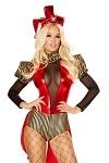 Sexy Jester Kostüm Rascal
