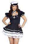 Sexy Matrosen Kleid Jenny