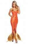Sexy Meerjungfrau Kostüm Kleid