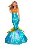 Sexy Meerjungfrau Kost�m Kleid Judy
