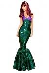 Sexy Meerjungfrau Kostüm Kleid - Mermaid Princess
