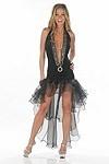 Sexy Minikleid Carmen - weiss