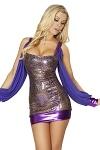 Sexy Minikleid Zarah lila