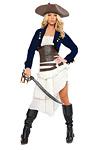 Sexy Piraten Kost�m - Colonial Pirat