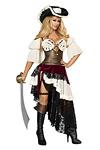 Sexy Piraten Kostüm - Pirate Captain
