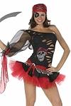 Sexy Piratenkostüm Ashanti
