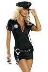 Sexy Police Cop Traffic - Polizistin Kostüm