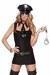 Sexy Polizei Kostüm - Bad Cop