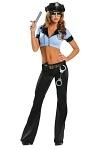 Sexy Polizistin Kostüm- Police Cop
