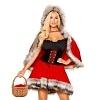Sexy Rotkäppchen Kostüm Deluxe