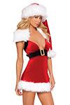 Sexy Santa Claus Kost�m Gina