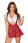 Sexy Schulmädchen Kostüm Claudia