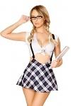 Sexy Schulmädchen Kostüm Sabrina