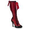 Sexy Stiefel Tempt-126 rot