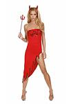 Sexy Teufel Kleid - Miss Devil