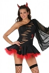 Sexy Teufel Kostüm Kleid Lady Devil Fantasy