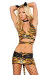 Sexy Tiger Kost�m