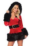 Sexy Weihnachtskleid Deluxe - Miss Claus