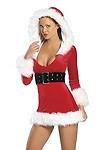 Sexy Weihnachtskostüm Amanda